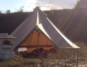 Hire a bell tent for your wedding day